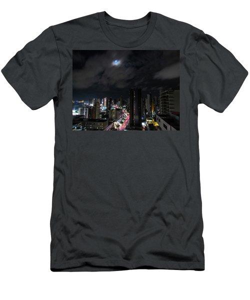 Moonlight Men's T-Shirt (Slim Fit) by Cesar Vieira