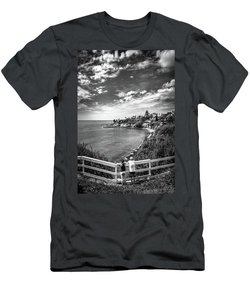 Moonlight Cove Overlook Men's T-Shirt (Athletic Fit)