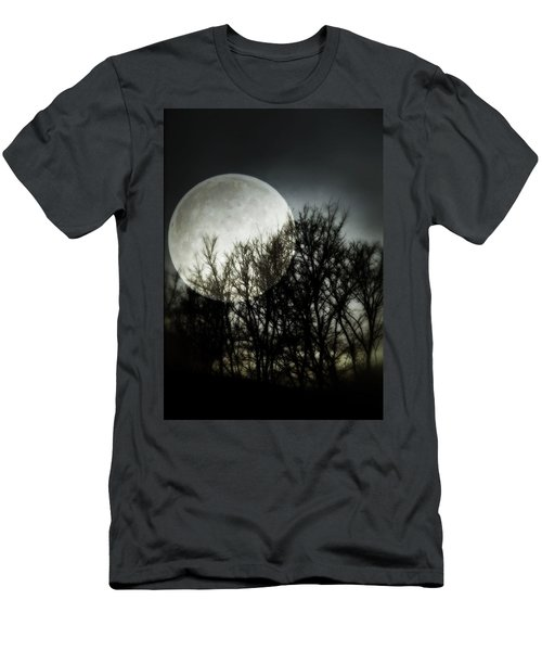 Men's T-Shirt (Athletic Fit) featuring the photograph Moonlight by Marianna Mills