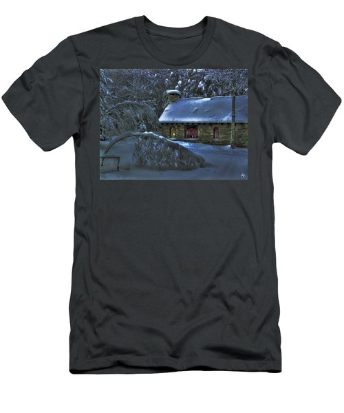 Moonlight On The Stonehouse Men's T-Shirt (Athletic Fit)