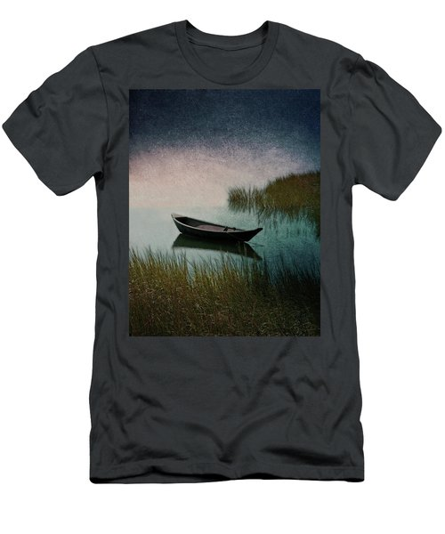 Moonlight Paddle Men's T-Shirt (Slim Fit) by Brooke T Ryan