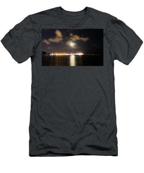 Moonlight Reflections Men's T-Shirt (Athletic Fit)