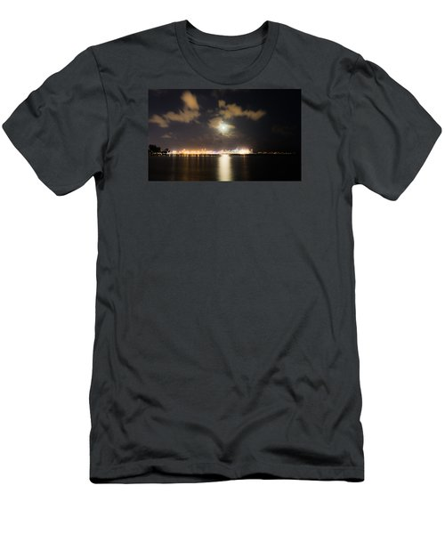 Moonlight Reflections Men's T-Shirt (Athletic Fit)