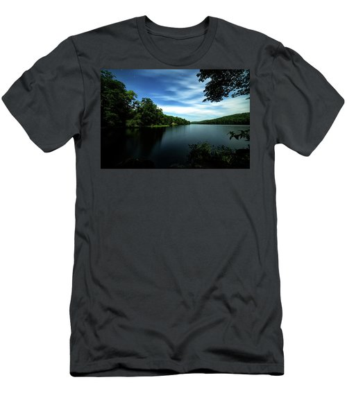 Moonlit Lake Men's T-Shirt (Athletic Fit)