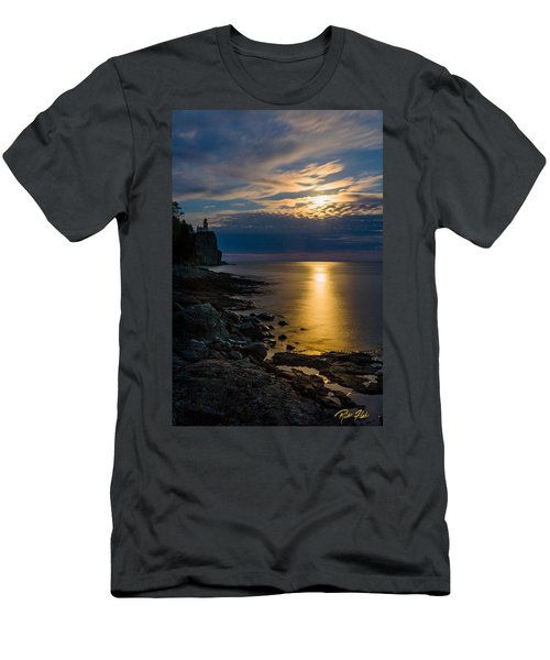 Moonrise From The Cloudbank Men's T-Shirt (Athletic Fit)