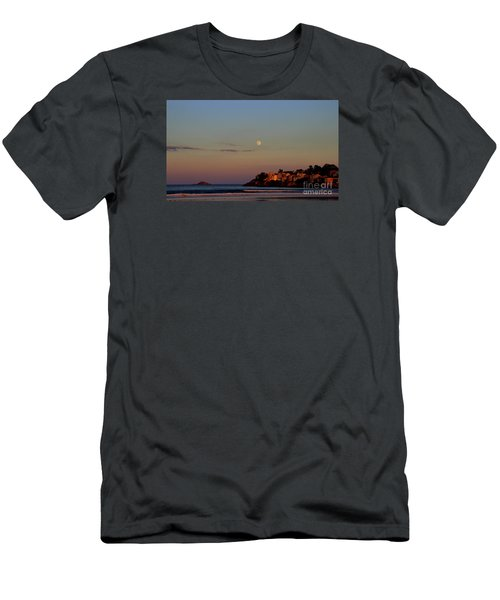 Moonrise  Over Nahant Men's T-Shirt (Athletic Fit)