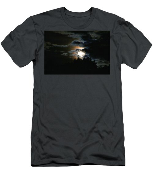 Moonset In The Clouds 2 Men's T-Shirt (Athletic Fit)
