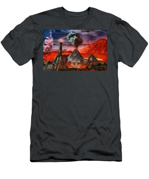 Mordor Panorama Men's T-Shirt (Athletic Fit)
