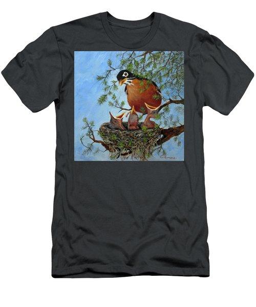 More Food Men's T-Shirt (Slim Fit) by Roseann Gilmore