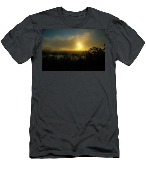 Men's T-Shirt (Slim Fit) featuring the photograph Morning Arrives by Karol Livote