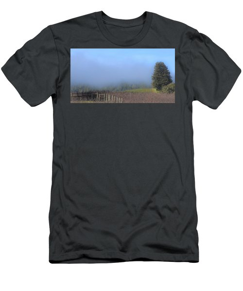 Morning At The Vinyard Men's T-Shirt (Athletic Fit)