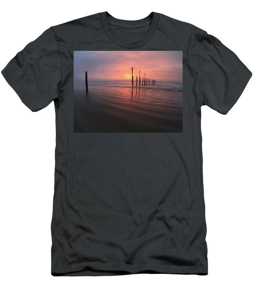 Men's T-Shirt (Slim Fit) featuring the photograph Morning Bliss by Sharon Jones