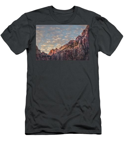 Morning Clouds Men's T-Shirt (Athletic Fit)