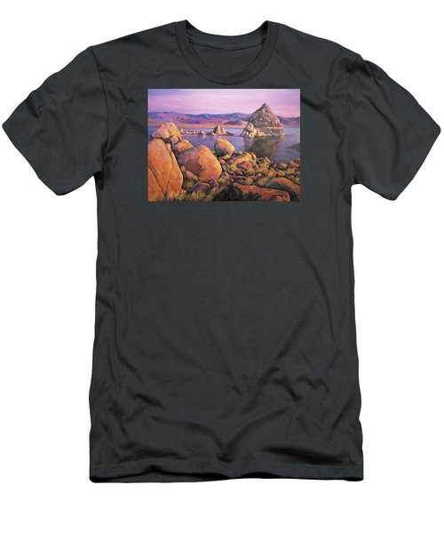 Morning Colors At Lake Pyramid Men's T-Shirt (Athletic Fit)