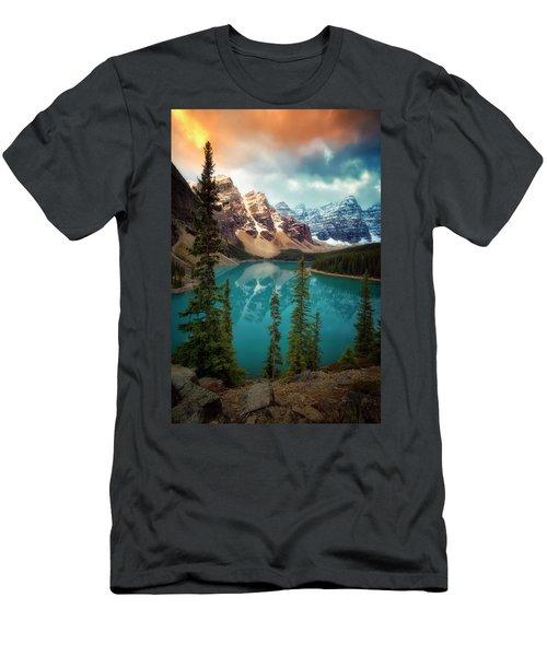 Morning Eruption  Men's T-Shirt (Athletic Fit)