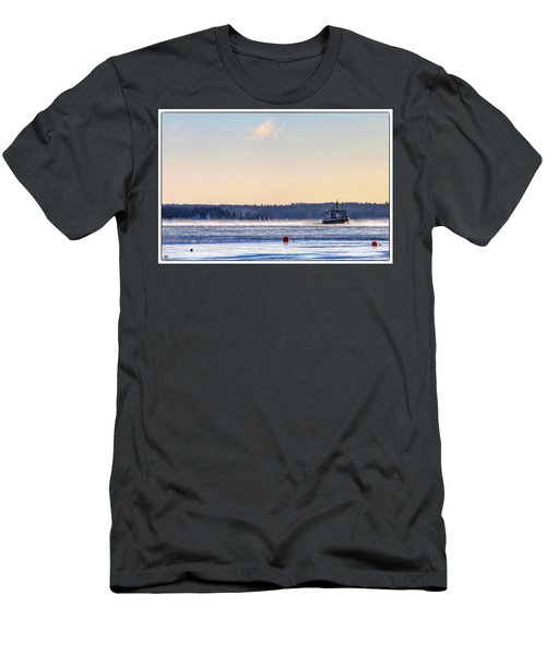 Morning Ferry Men's T-Shirt (Athletic Fit)