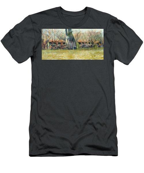 Morning Flight At Little Basin Men's T-Shirt (Athletic Fit)