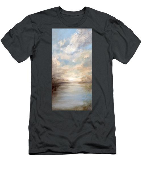 Morning Glory Men's T-Shirt (Slim Fit) by Dina Dargo