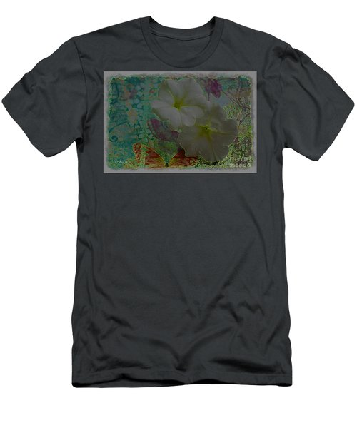Men's T-Shirt (Athletic Fit) featuring the photograph Morning Glory Fantasy by Donna Bentley
