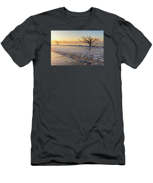 Morning Glow At Botany Bay Beach Men's T-Shirt (Athletic Fit)