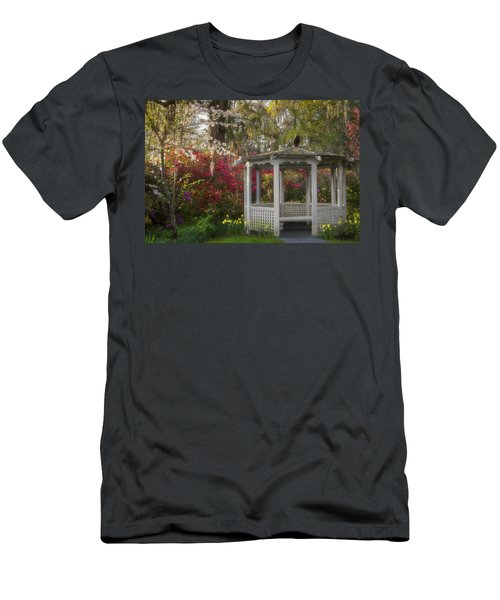 Morning Glow At The Plantations Men's T-Shirt (Athletic Fit)