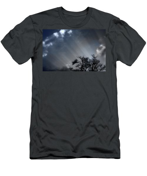 Men's T-Shirt (Slim Fit) featuring the photograph Morning  by Gray  Artus