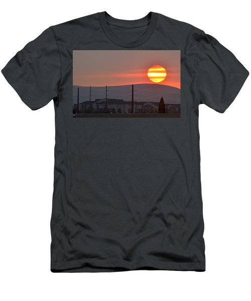 Men's T-Shirt (Slim Fit) featuring the photograph Morning Has Broken by AJ Schibig