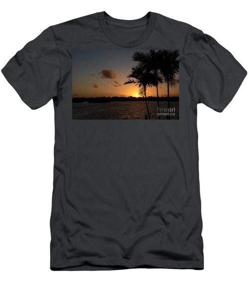 Men's T-Shirt (Slim Fit) featuring the photograph Morning Has Broken by Pamela Blizzard