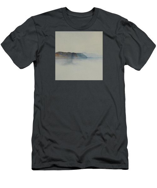 Morning Haze In The Swedish Archipelago On The Westcoast.2 Up To 28 X 28 Men's T-Shirt (Athletic Fit)
