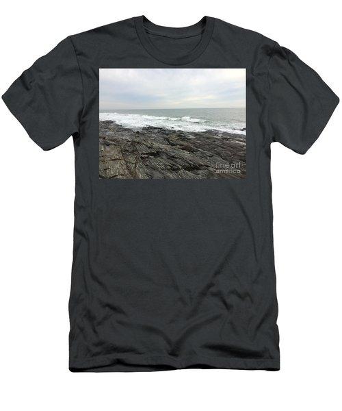 Morning Horizon On The Atlantic Ocean Men's T-Shirt (Athletic Fit)
