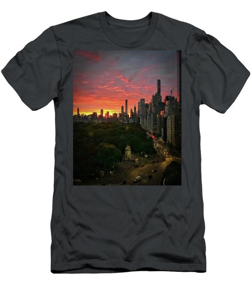Morning In The City Men's T-Shirt (Athletic Fit)
