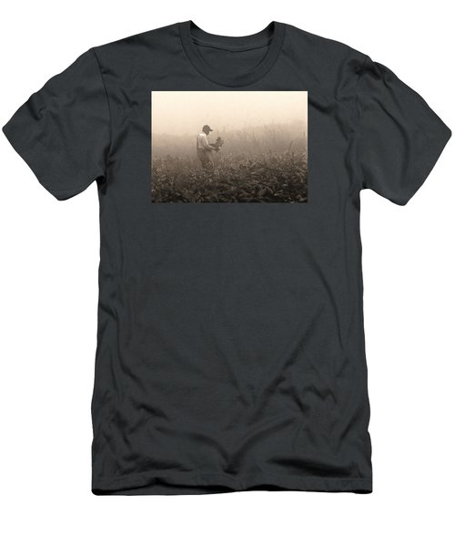 Morning In The Fields Men's T-Shirt (Athletic Fit)