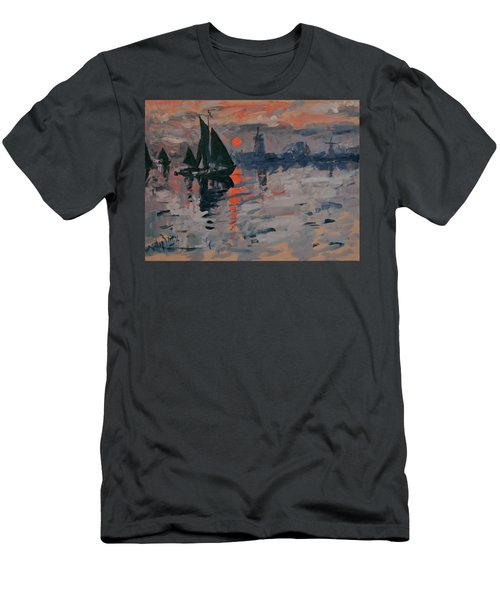 Morning In Zaanse Schans Men's T-Shirt (Athletic Fit)