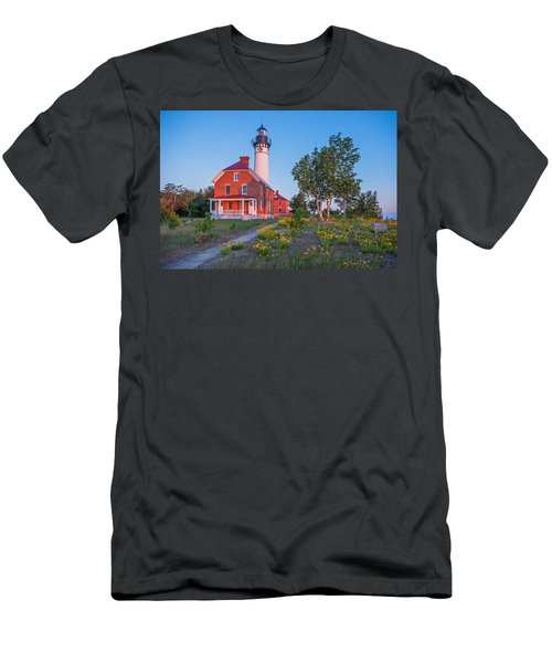 Morning Light At Au Sable Point Men's T-Shirt (Athletic Fit)