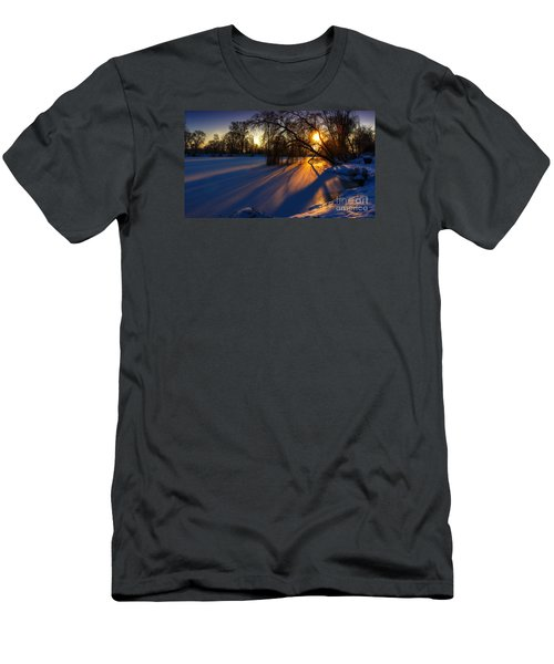 Men's T-Shirt (Slim Fit) featuring the photograph Morning Light by Franziskus Pfleghart
