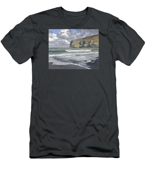 Morning Light On Pencannow Point Men's T-Shirt (Athletic Fit)
