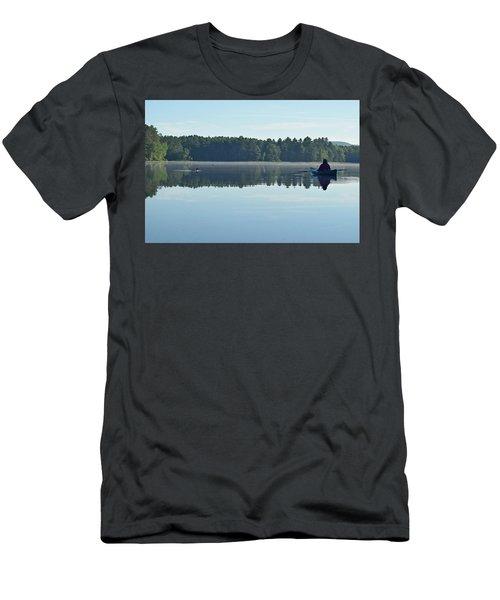 Morning Meeting Men's T-Shirt (Slim Fit) by Joy Nichols