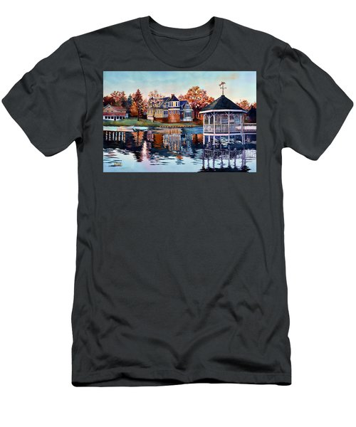 Morning On Silver Lake Men's T-Shirt (Athletic Fit)