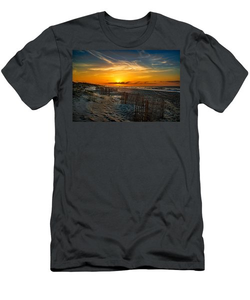 Morning On The Bogue Banks Men's T-Shirt (Athletic Fit)