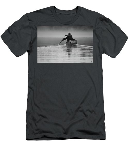 Morning Paddle Men's T-Shirt (Athletic Fit)