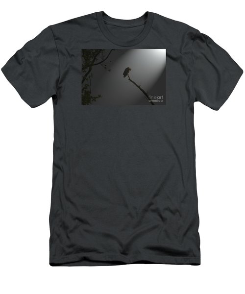 Men's T-Shirt (Slim Fit) featuring the photograph Morning Prayer by Geraldine DeBoer