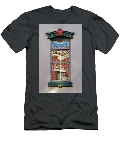 Morning Reflection In Window Men's T-Shirt (Athletic Fit)