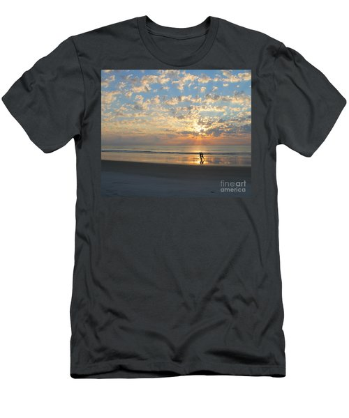Morning Run Men's T-Shirt (Athletic Fit)