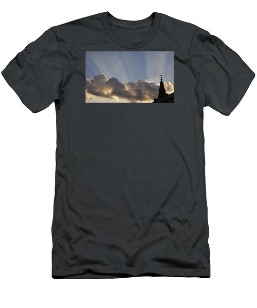 Men's T-Shirt (Slim Fit) featuring the photograph Morning Sky by Inge Riis McDonald