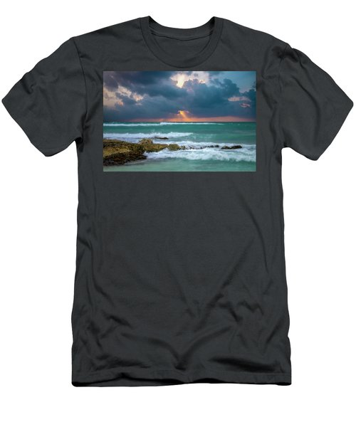 Morning Surf Men's T-Shirt (Athletic Fit)