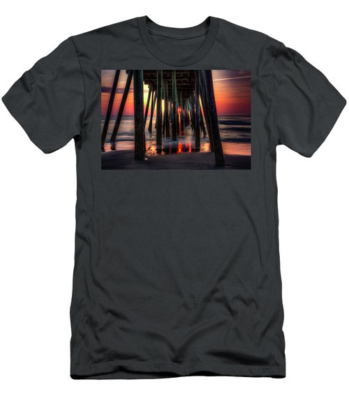 Morning Under The Pier Men's T-Shirt (Athletic Fit)