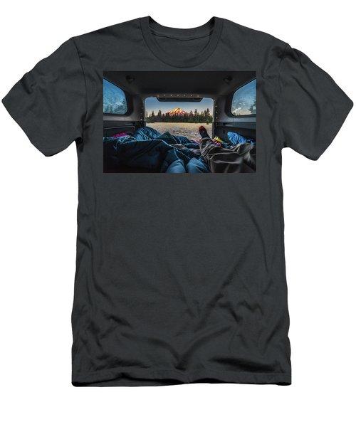 Morning Views Men's T-Shirt (Slim Fit) by Alpha Wanderlust