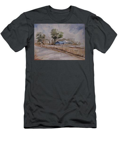 Morning Walk 2 Men's T-Shirt (Athletic Fit)