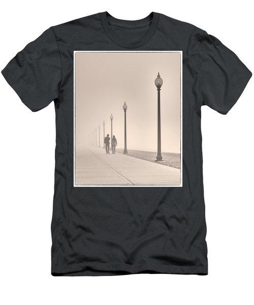 Morning Walk Men's T-Shirt (Slim Fit) by Don Spenner