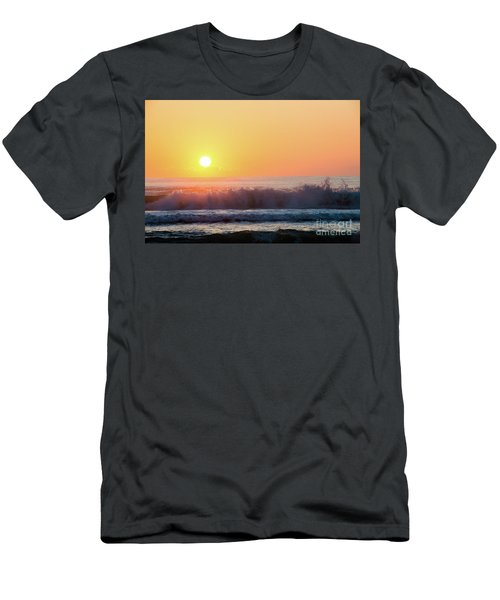 Morning Waves Men's T-Shirt (Athletic Fit)